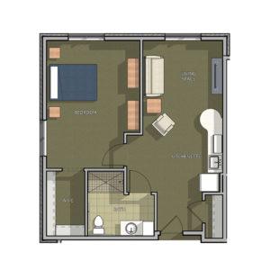 Cambridge Camrock Suite Floor Plan