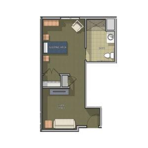 Cambridge Deluxe Prairie Floor Plan