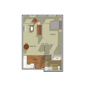 Waunakee Six Mile Floor Plan