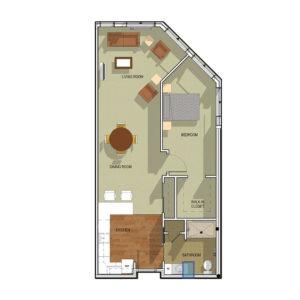 Waunakee Wrap Around Floor Plan