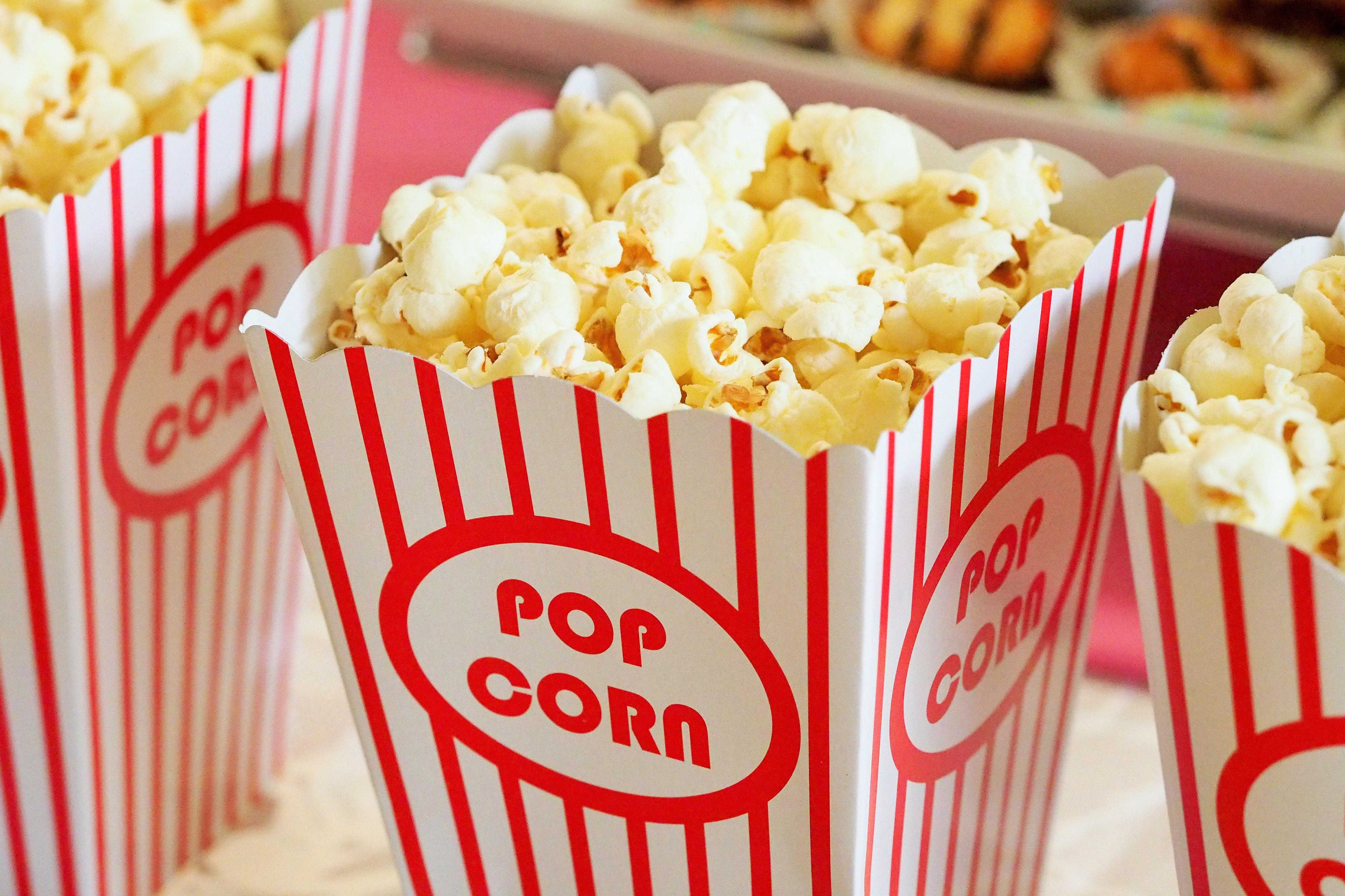 Movie Popcorn Image