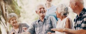 Happy Group of Seniors
